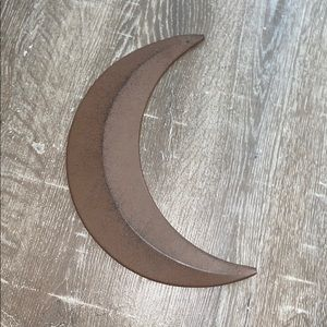 Other - Bronze moon wall decor
